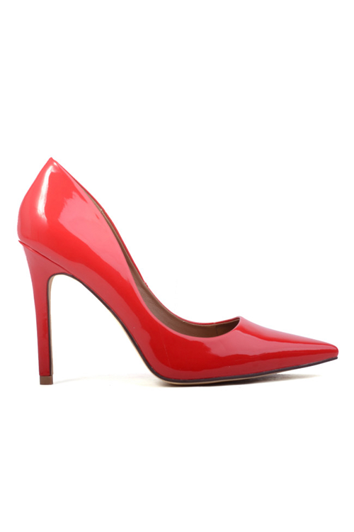 Harold Heels by Verali in Scarlet