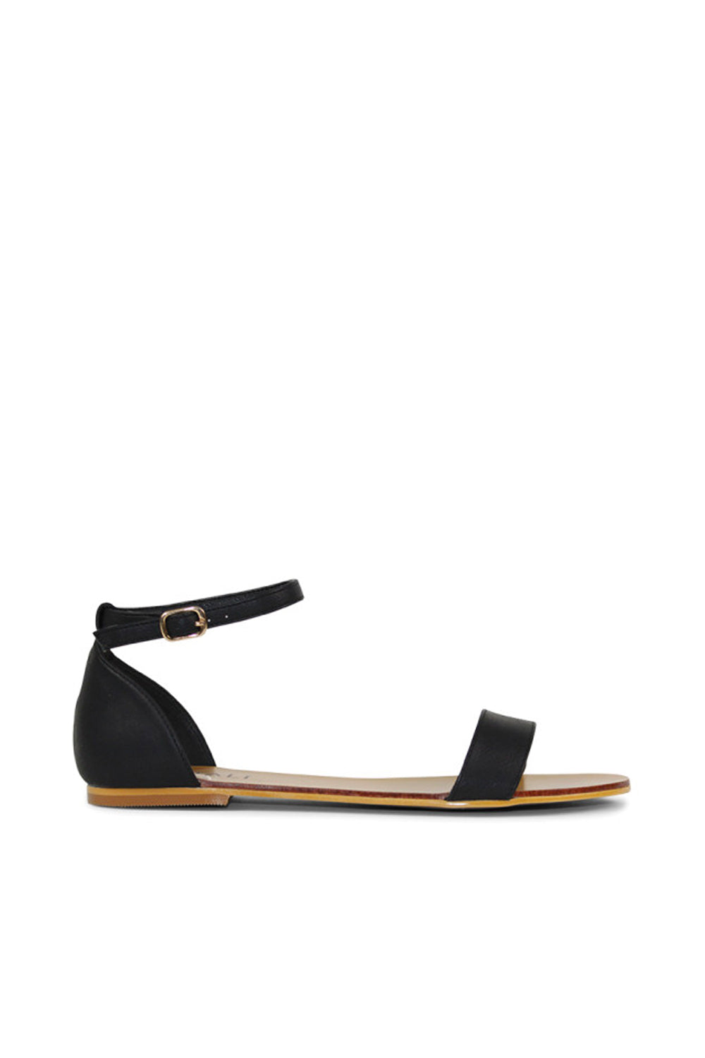 Bailey Sandal by Verali in Black