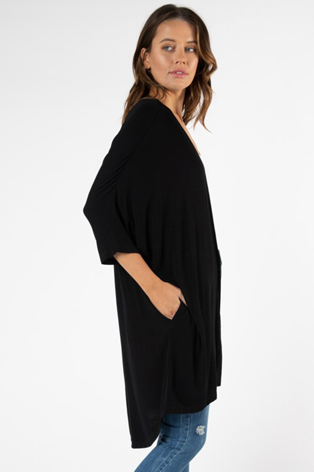 Valencia Cardigan by Betty Basics - Black