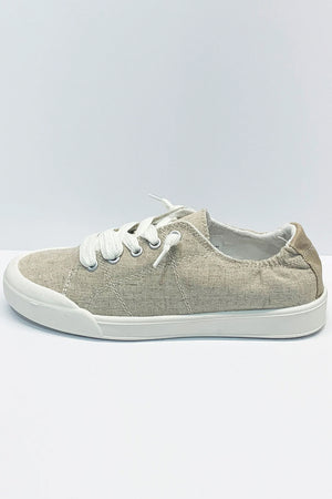 Sail Sneaker By Betty Basics - Linen Nature