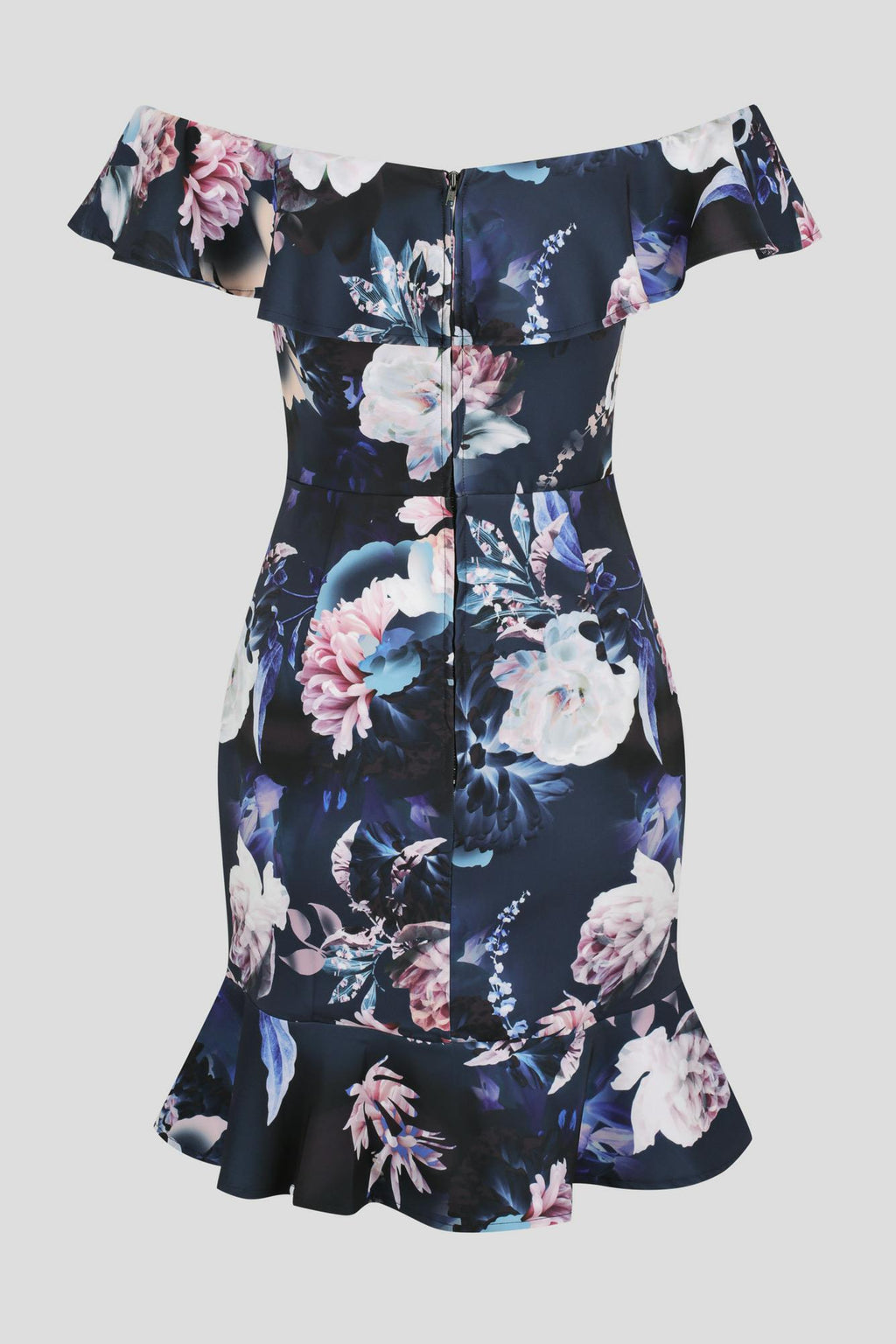 Magic Ruffle Dress by Fresh Soul - Spellbound Navy Print