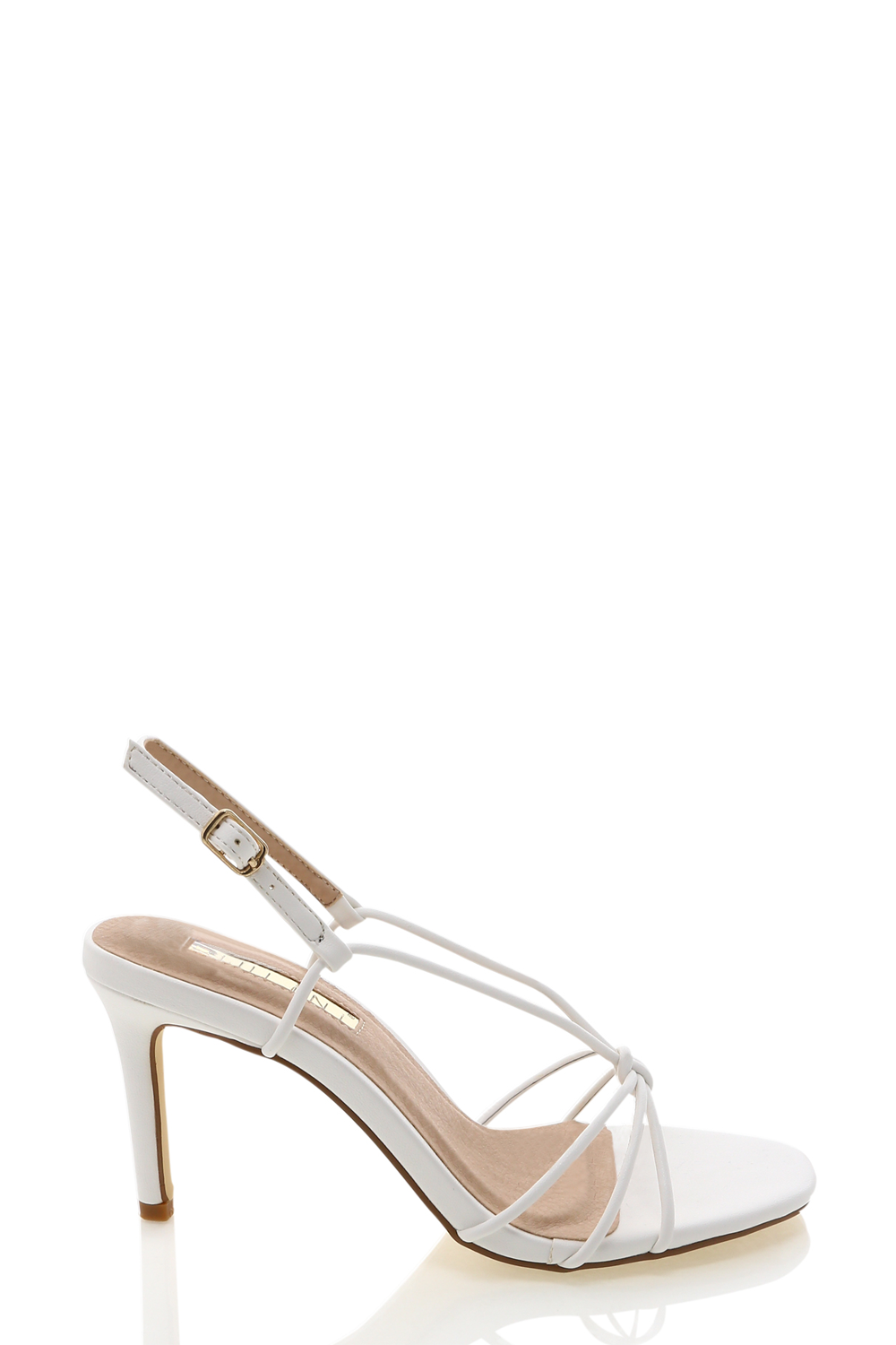 Janie Heels by Billini in White