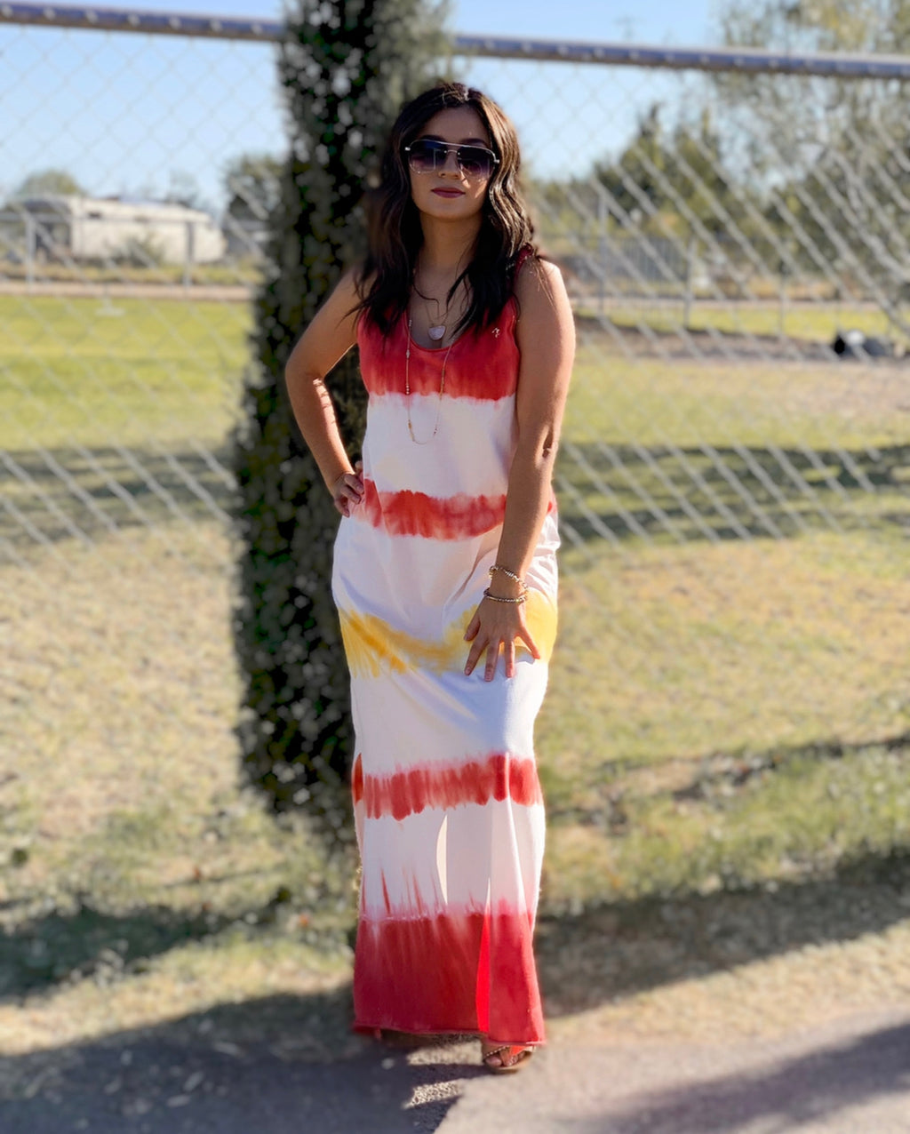 """Sunset"" dress"