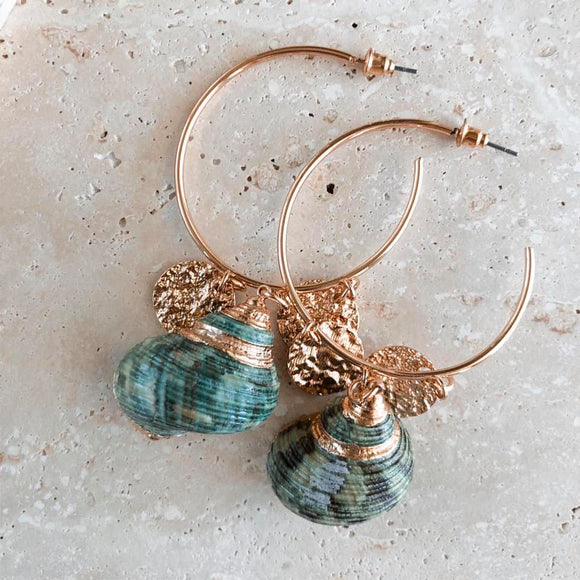 Nymph Hoop Earrings