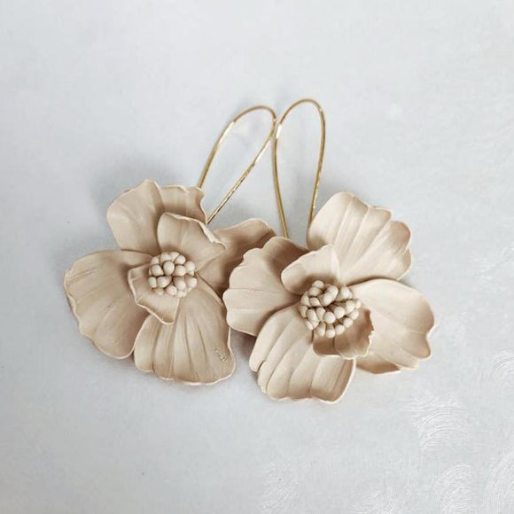 Mushroom Pincushion Earrings | 18K Gold