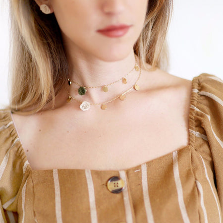 The essential | dainty, stackable necklace