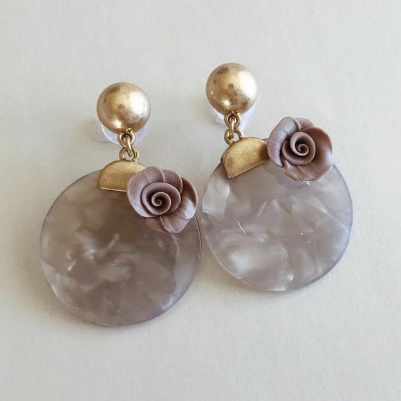 LOVE MAUVE earrings