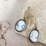 Primo Bacio | cameo earrings