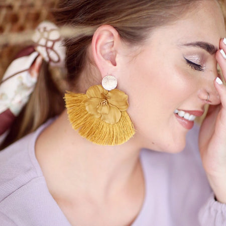 Honey Tassels | earrings