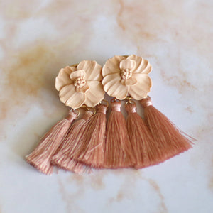 Blush Statement Tassels