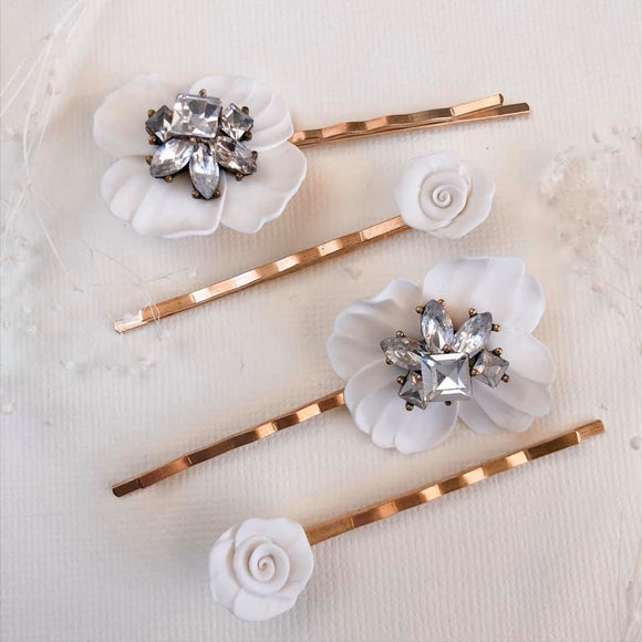 Hair barrettes | set of 4