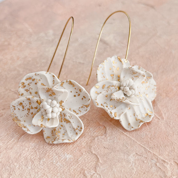 Speckled in Gold earrings | 18K Gold