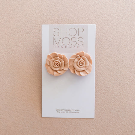 The ROSE Studs | multiple colors
