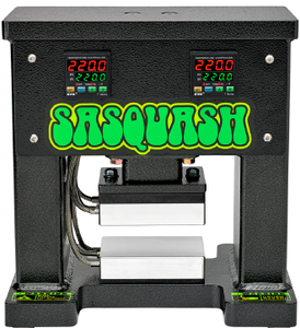NEW AND IMPROVED SASQUASH M1 ROSIN PRESS