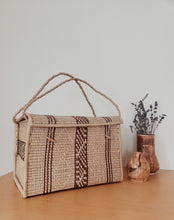 Load image into Gallery viewer, Large Vintage Wicker Basket