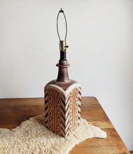 Load image into Gallery viewer, Vintage Ceramic Lamp