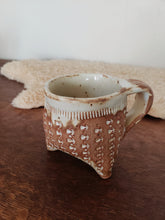 Load image into Gallery viewer, Studio Pottery Footed Mug
