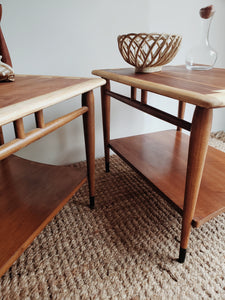 Mid Century Lane Acclaim End Tables (2)