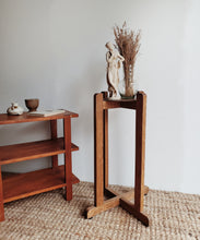 Load image into Gallery viewer, Vintage Wooden Plant Stand