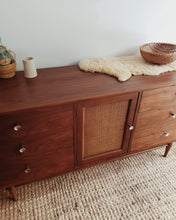 Load image into Gallery viewer, Vintage MCM Lowboy Dresser-Harmony House