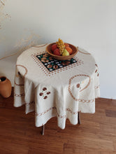 Load image into Gallery viewer, Vintage Mexican Embroidered Tablecloth