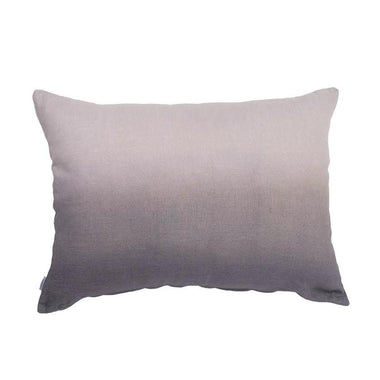 GRAND BENGALE - Housse de Coussin Lin Tie and Dye Gris 50x70 cm