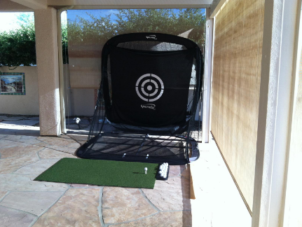 premium golf net and mat