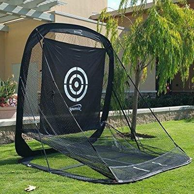 Golf Practice Driving Net Automatic Ball Return System for Outdoor/Indoor/Backyard - TheGolfersPick