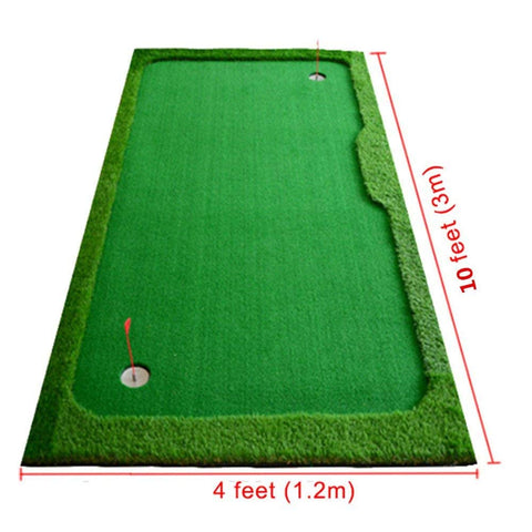 Golf Indoor Putting Green System Pro Package 4'x10' - TheGolfersPick