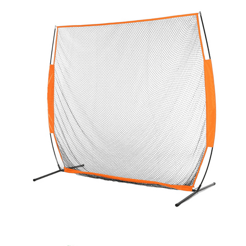7x7 ft Portable Golf Net Driving Net and Mat Bundle Indoor/Outdoor