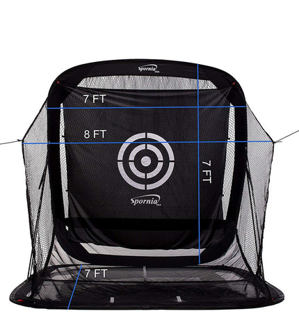 Golf Practice Driving Net Auto Ball Return System for Outdoor/Indoor/Backyard - THE GOLFER'S PICK