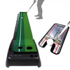 Image of Golf Putting Green Practice Set with Putting Alignment Mirror - TheGolfersPick