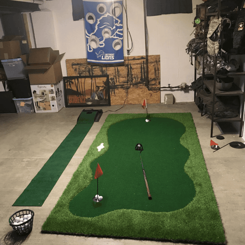 Golf Indoor Putting Green Pro Package | Professional Home Putting Green - TheGolfersPick
