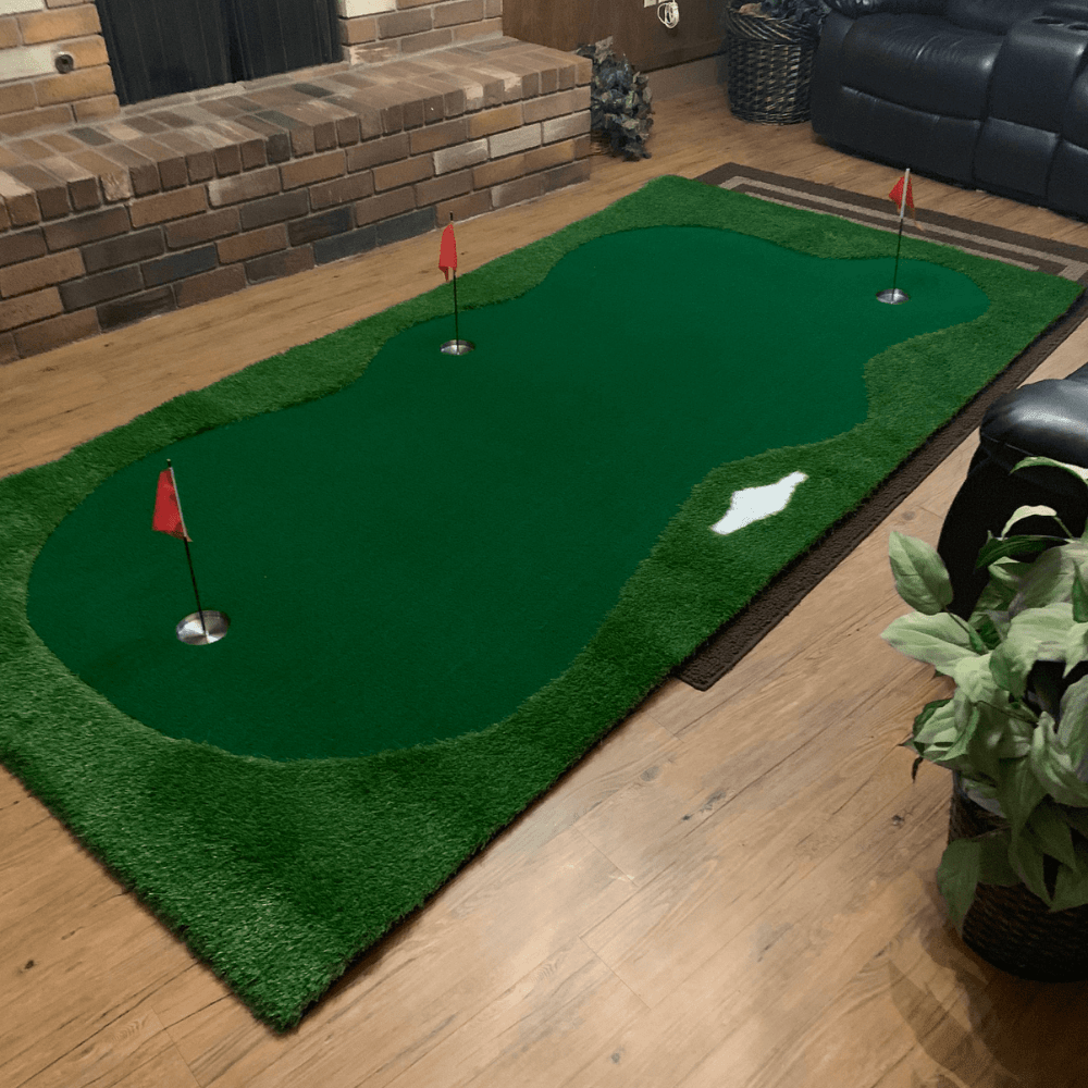 Golf Indoor Putting Green Pro Package | Professional Home Putting Green