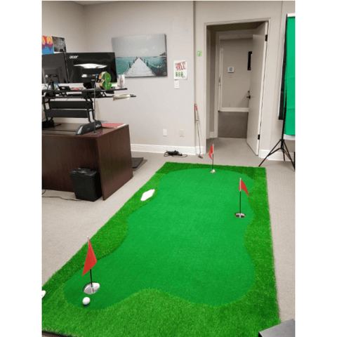 Image of Golf Putting Mat Pro Package 5'x10' | Professional Home Putting Green - TheGolfersPick
