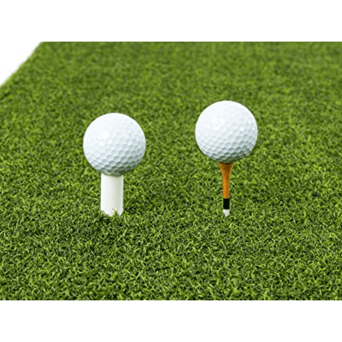 Image of Golf Hitting Practice Mats 2in1 Premium Set | 3'x5' Golf Mat + 1.5'x2.5' Tri-Turf Mat
