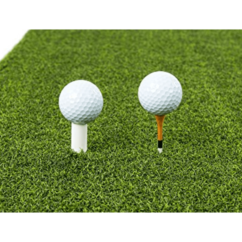 Golf Practice Driving Net Automatic Ball Return System 3pc Bundle with 3x5 ft Premium Hitting Mat for Outdoor/Indoor/Backyard