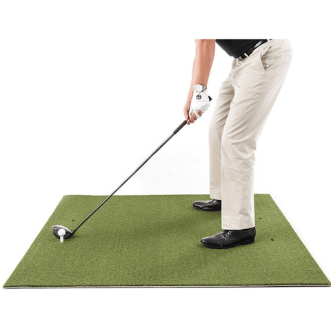 FairwayHero Champ Golf Mat 4'x5' | Portable Golf Hitting Practice Mat
