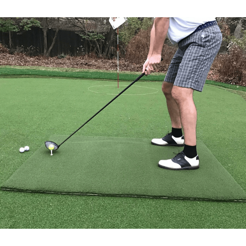 TeeLuxe Champ Luxury Golf Hitting Mat 4'x5'