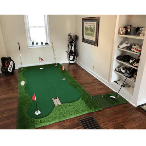 Image of Golf Putting Mat Pro Package 5'x10' | Professional Home Putting Green