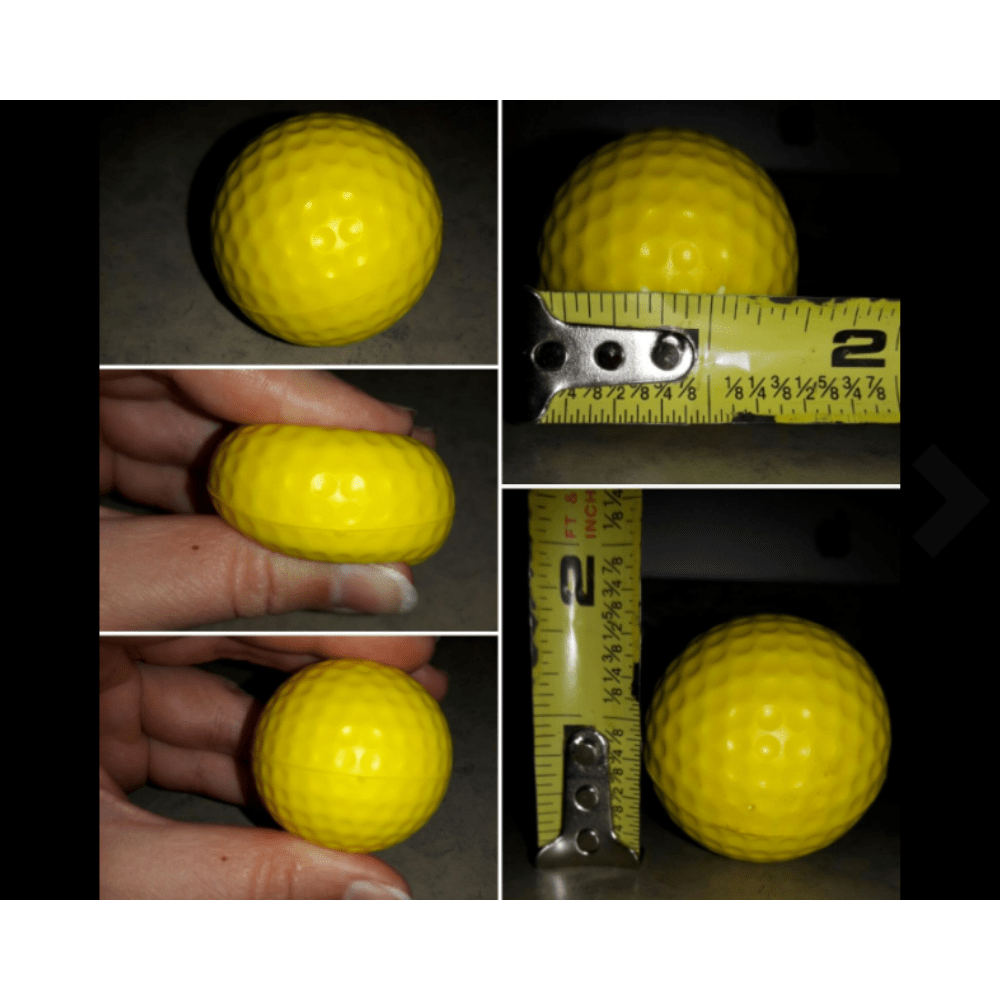 Golf Practice Balls 12 pcs Package
