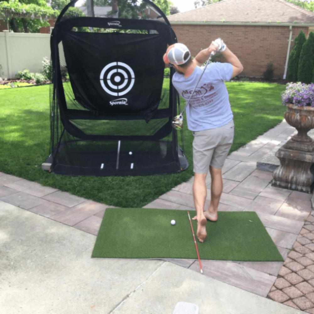 FairwayHero Golf Mat Pro 3'x5' | Portable Golf Hitting Practice Mat - TheGolfersPick
