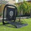 Image of Golf Practice Driving Net Automatic Ball Return | Net & Mat Bundle | Outdoor/Indoor/Backyard - TheGolfersPick