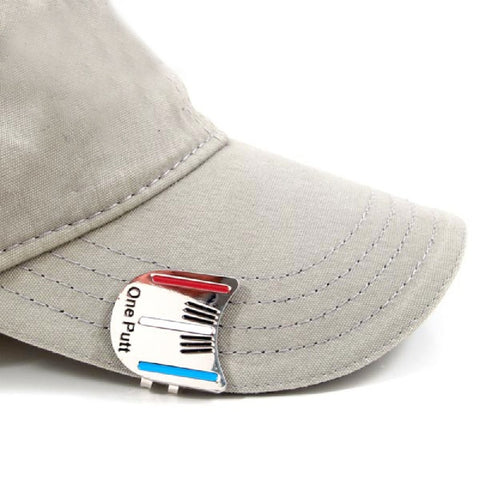 Image of ONE PUTT GOLF CAP CLIP - THE GOLFER'S PICK