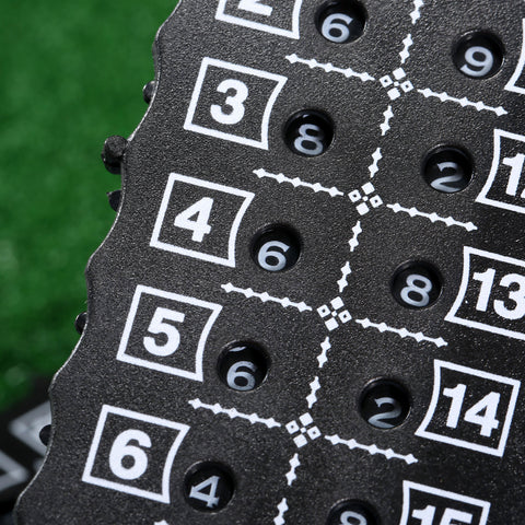 Image of GOLF SCORE COUNTER CARD - THE GOLFER'S PICK