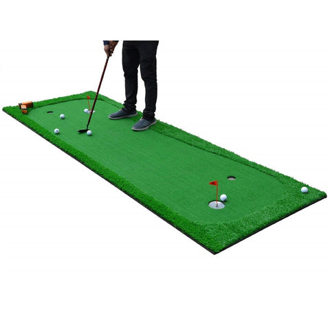 Golf Indoor Putting Green System Pro Package 3.3'x10' - TheGolfersPick