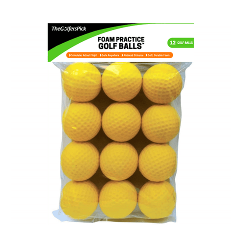 Golf Practice Balls 12 pcs Package - TheGolfersPick