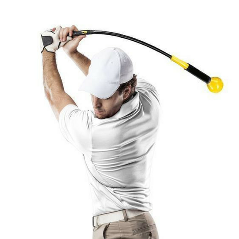 Image of Gold Whip Golf Swing Trainer - THE GOLFER'S PICK
