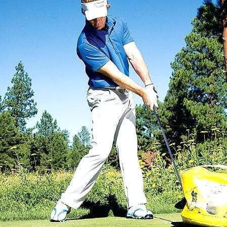 GOLF SWING IMPACT BAG - THE GOLFER'S PICK