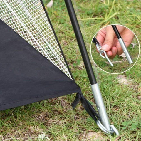 Image of Golf Practice Net 3pc Bundle with Premium Hitting Mat - THE GOLFER'S PICK